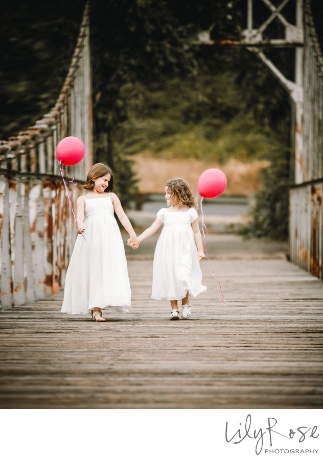 Flower Girls Tahoe Wedding Photographers