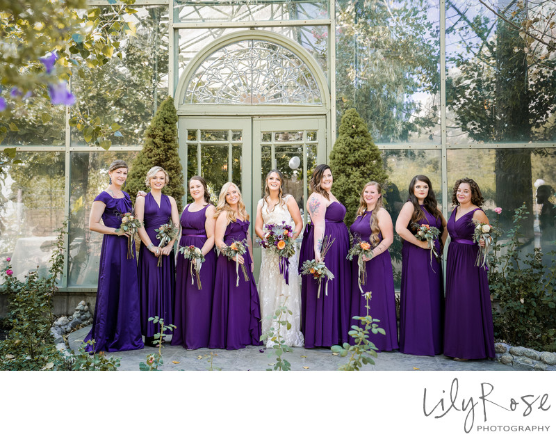 Best Wedding Photography Bridal Party Group