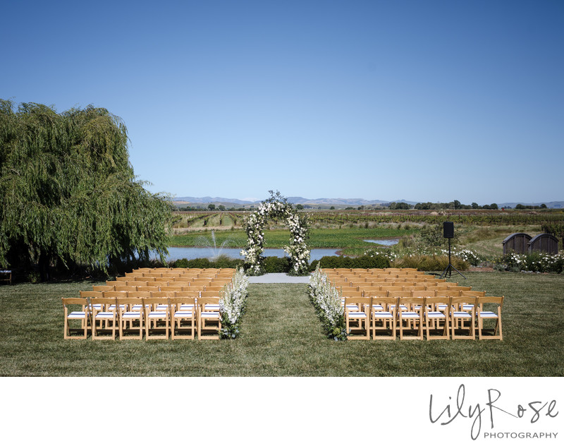 The Barn at Tyge Williams Ceremony Sonoma Photographers