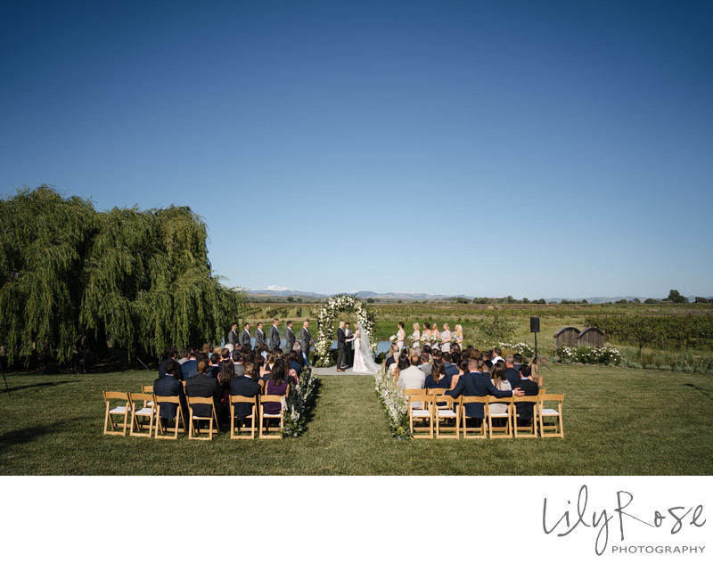 The Barn at Tyge Williams Ceremony Wedding Photographer