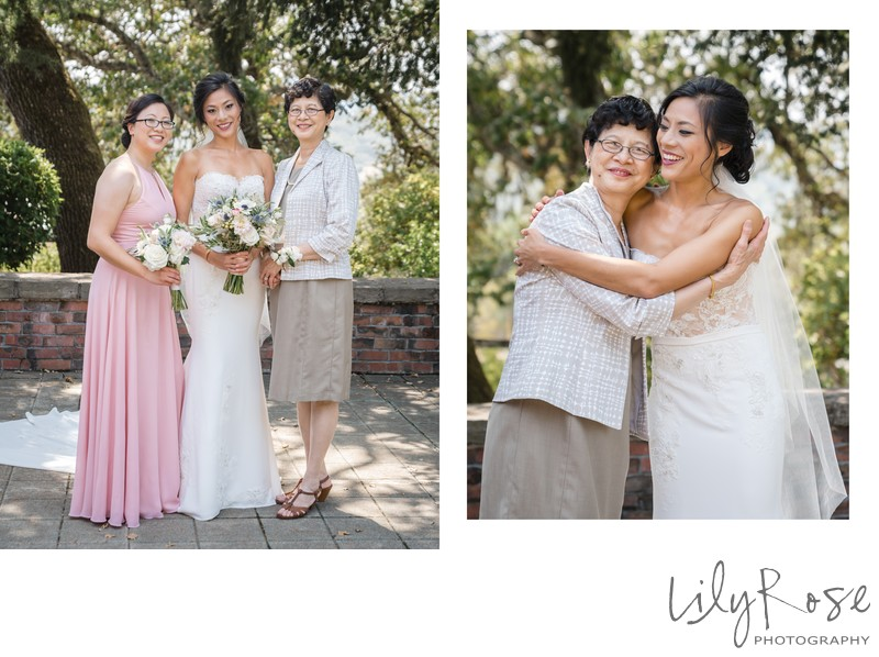 Bride Family Kunde Winery Sonoma Wedding Photographer