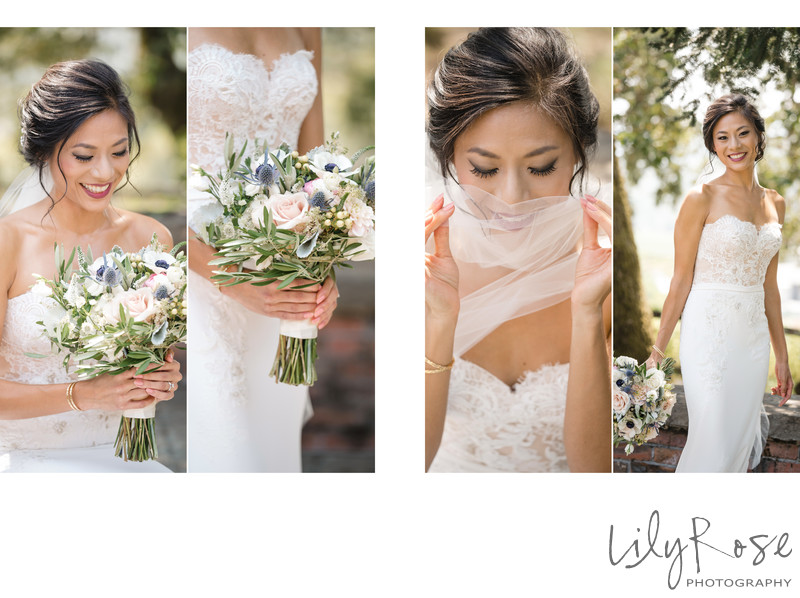 Bride Kunde Winery Sonoma Wedding Photography