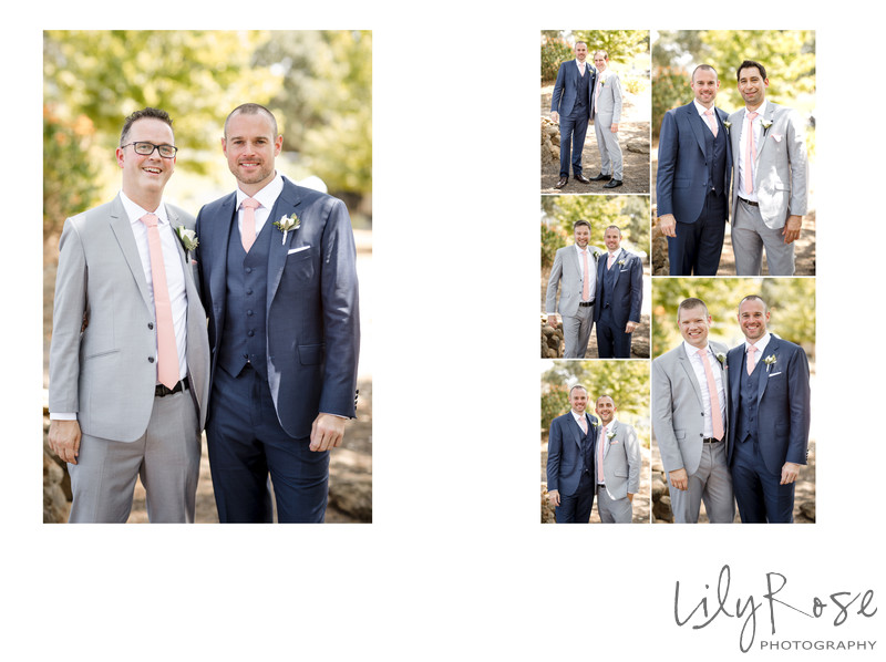 Groomsmen Kunde Winery Sonoma Wedding Photographers