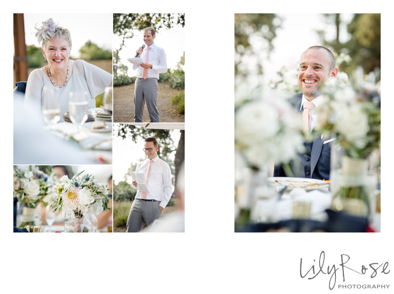 Sonoma Photographer Wedding Kunde Winery Best Man Toast