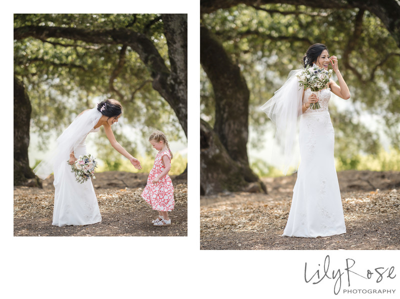 Sonoma Photographers Wedding Kunde Winery Bride