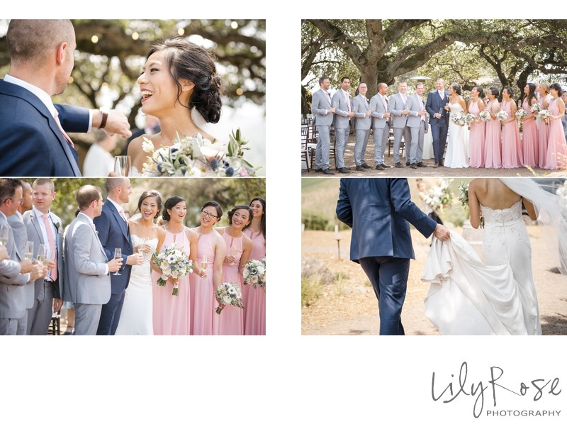 Couple Sonoma Photographer Kunde Winery Wedding