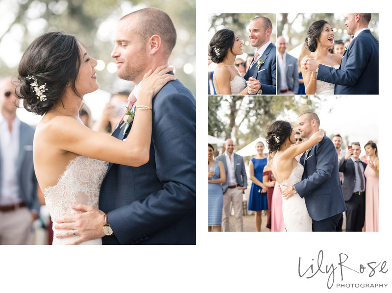 First Dance Sonoma Photography Wedding Kunde