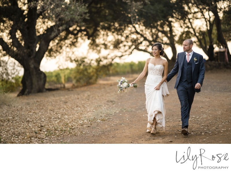 Kunde Family Winery Sonoma Photographer Wedding Couple