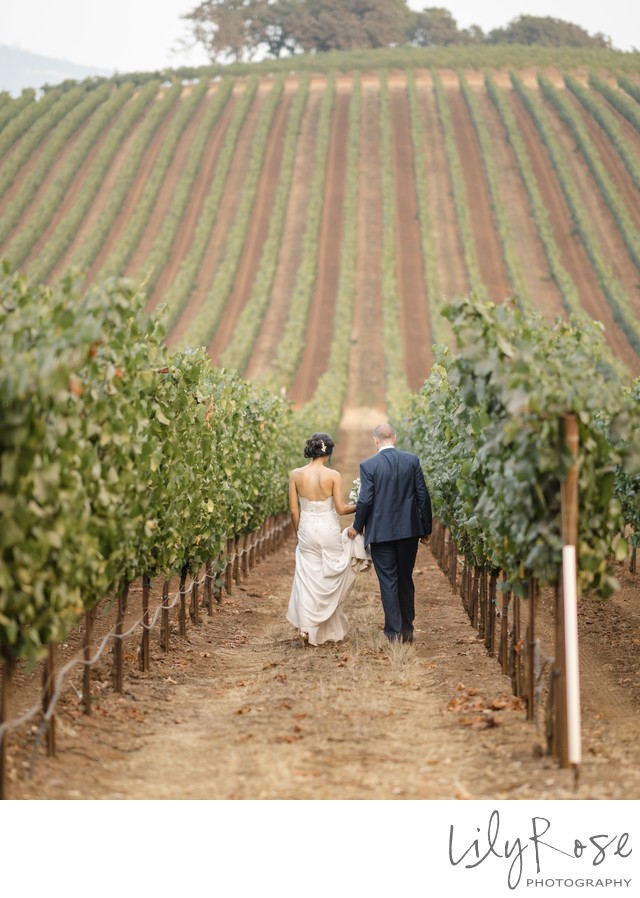 Kunde Family Winery Sonoma Photography Wedding Together