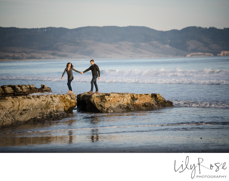 Sonoma Wedding Photographer Engagement Drakes Beach