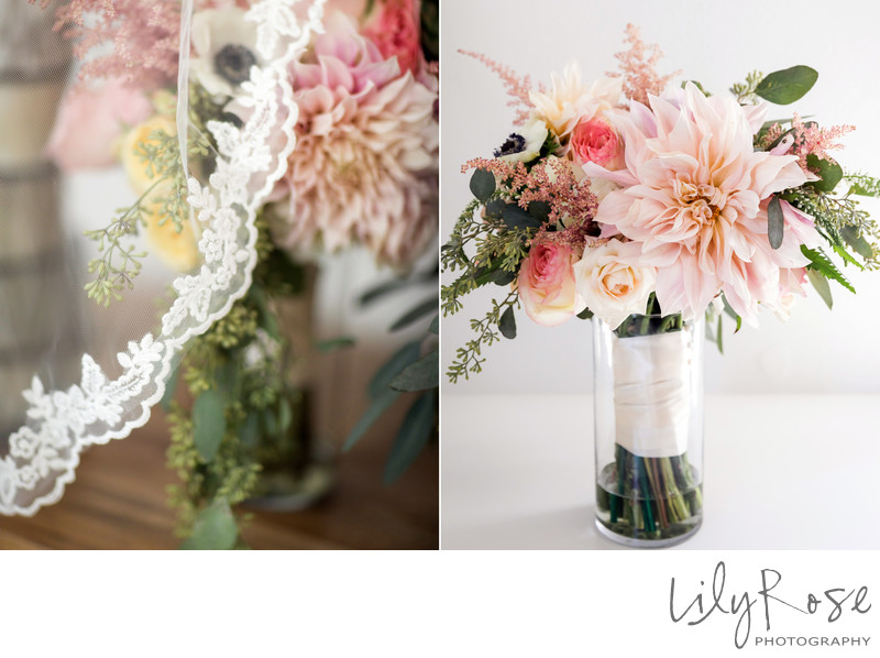 Cornerstone Sonoma Wedding Photographer Bouquet