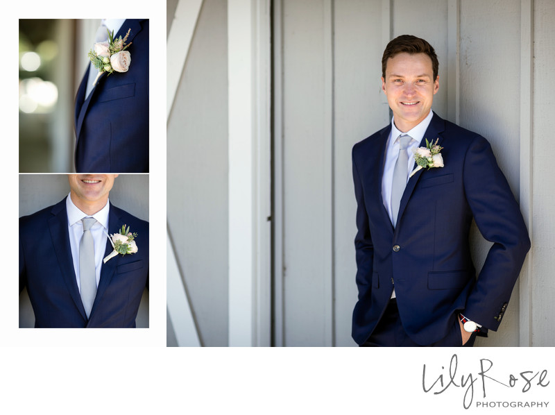 Cornerstone Sonoma Wedding Photographer Groom Portrait