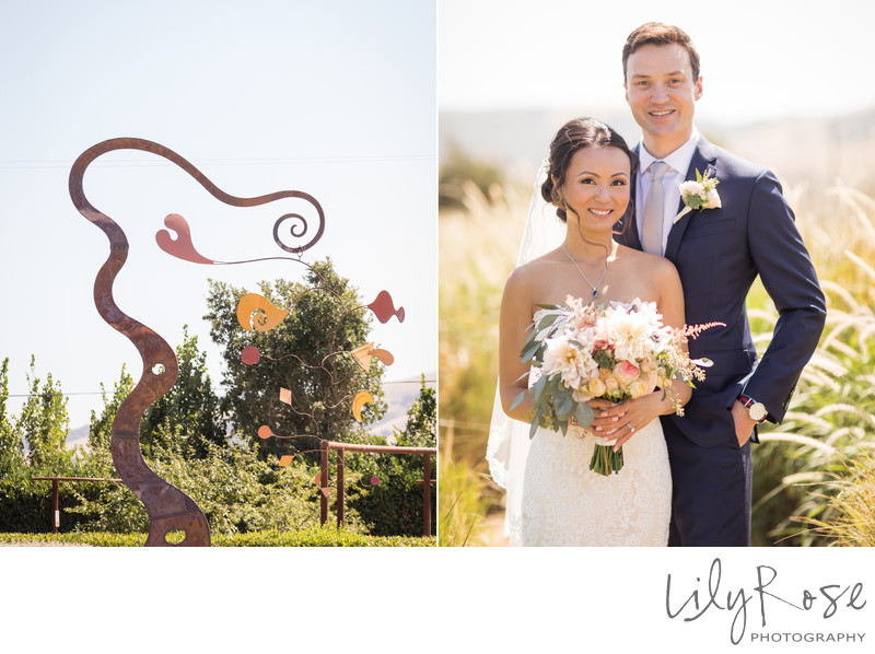 Cornerstone Sonoma Wedding Photography Portrait