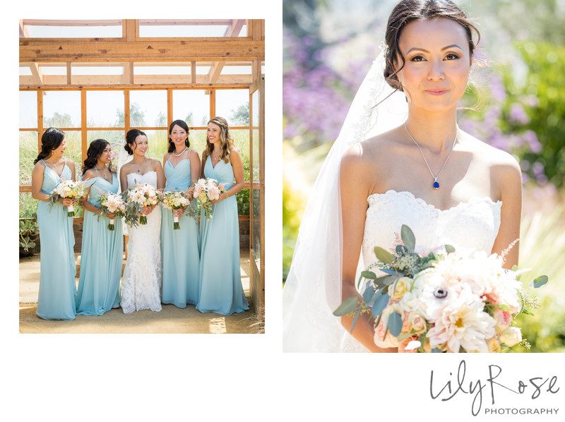 Cornerstone Sonoma Wedding Photographer Bridal Party