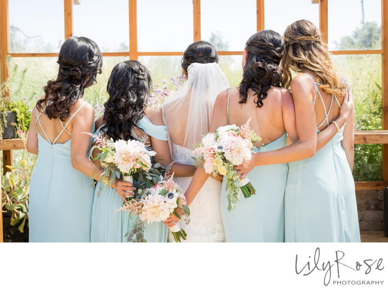 Cornerstone Sonoma Wedding Photographers Bridal Party