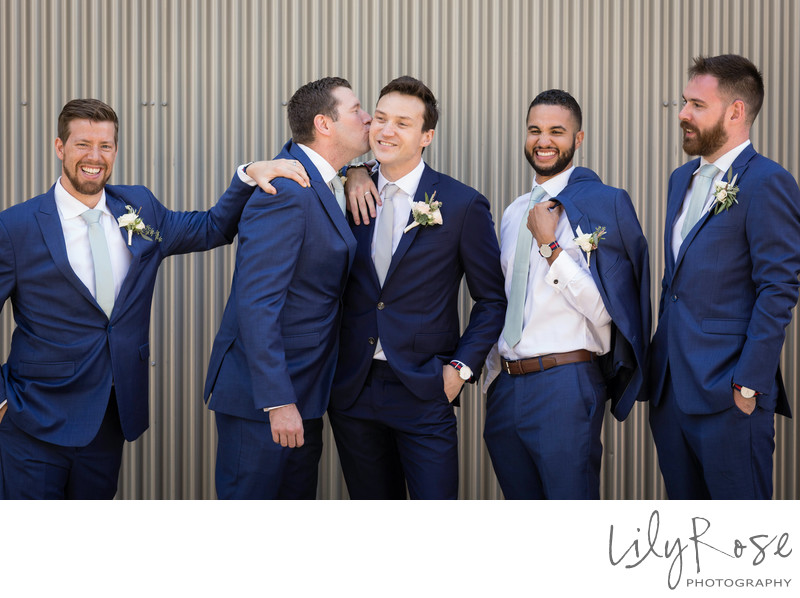 Cornerstone Sonoma Wedding Photography Groomsmen