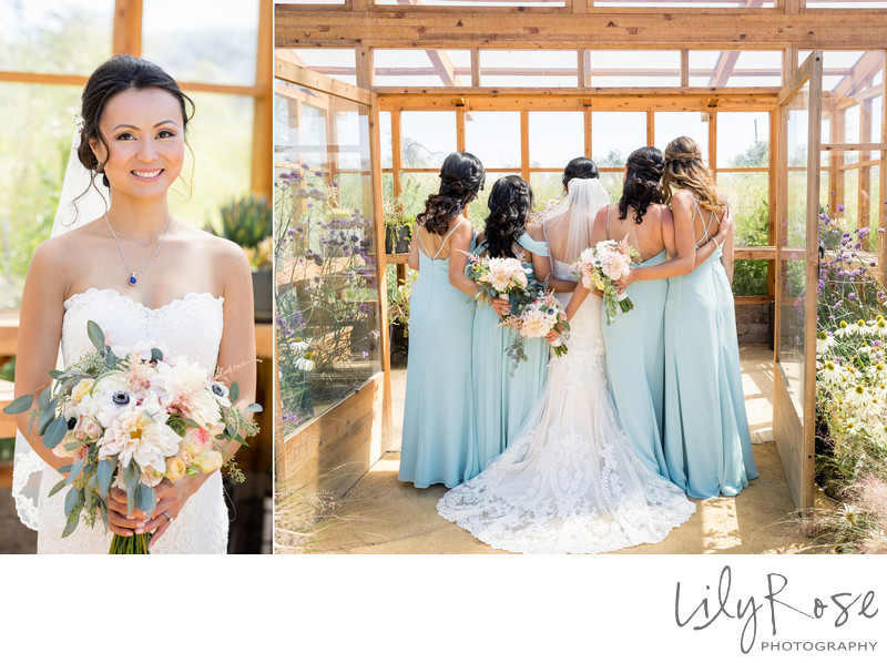 Cornerstone Sonoma Wedding Photographer Bridesmaids