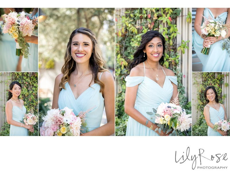 Bridal Party Cornerstone Sonoma Wedding Photographers