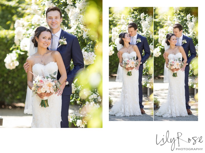 Bride Groom Cornerstone Sonoma Wedding Photographer