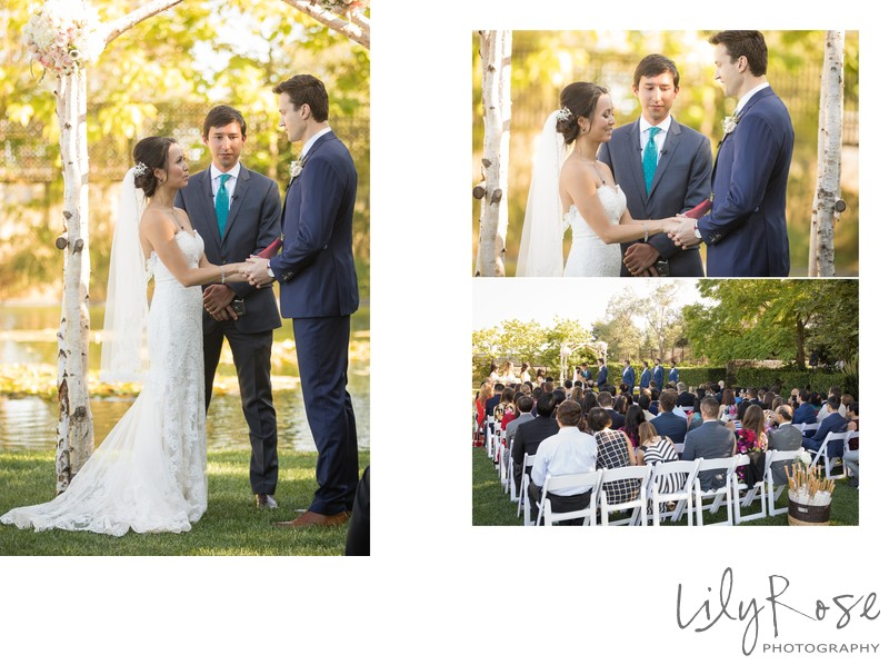 Cornerstone Sonoma Wedding Photographer Vows