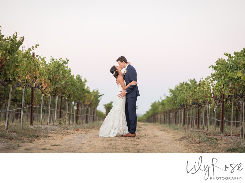 Cornerstone Sonoma Wedding Photograph Vineyard