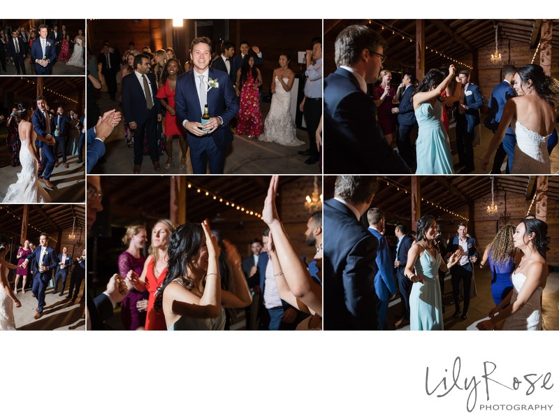 Cornerstone Sonoma Wedding Photographer Dancing