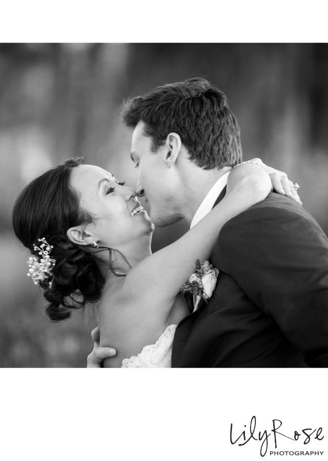 Just Married Cornerstone Wedding Sonoma Photographers