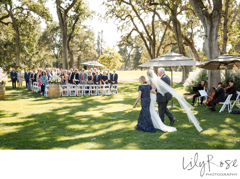 Napa CA Portrait Wedding Photography Silverado Resort