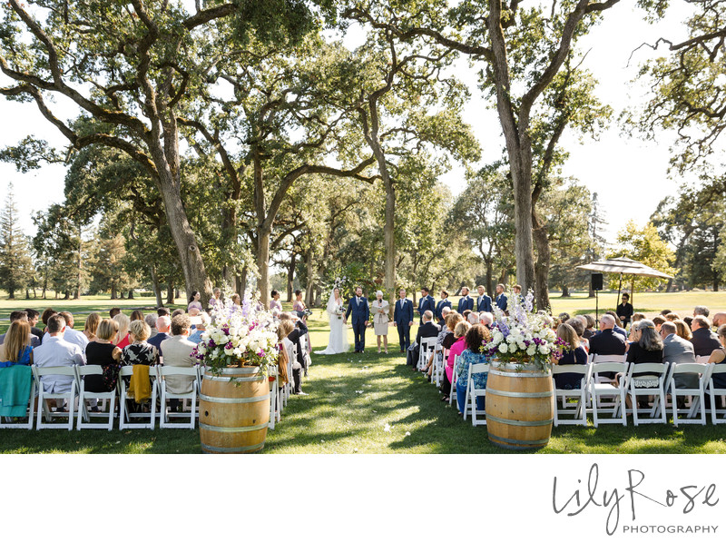 Wedding Photography Napa CA Silverado Resort Spa