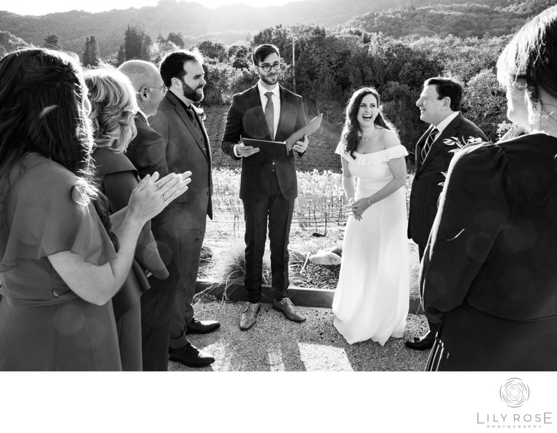 Micro and Intimate Sonoma Wedding Photographers