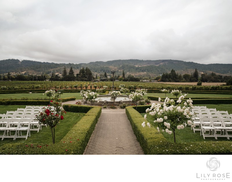 Beautiful Ledson Wedding Ceremony Site