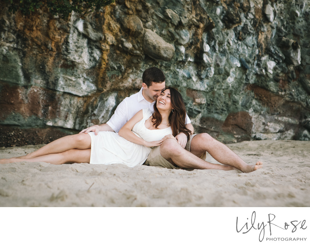 Destination Engagement Photographers Laguna Beach