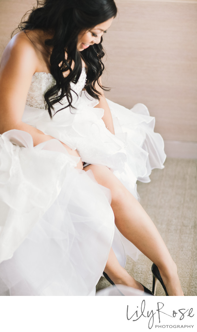 Wedding Photographs in San Francisco St. Regis Hotel