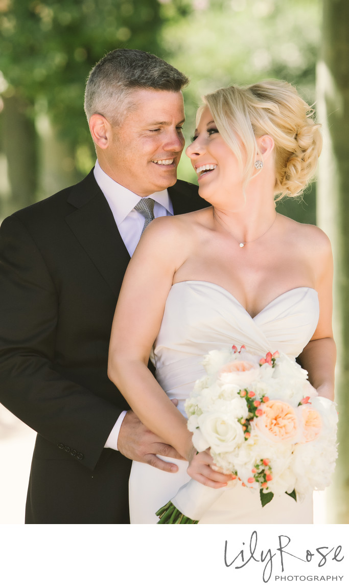 Bride and Groom Bernardus Lodge and Spa