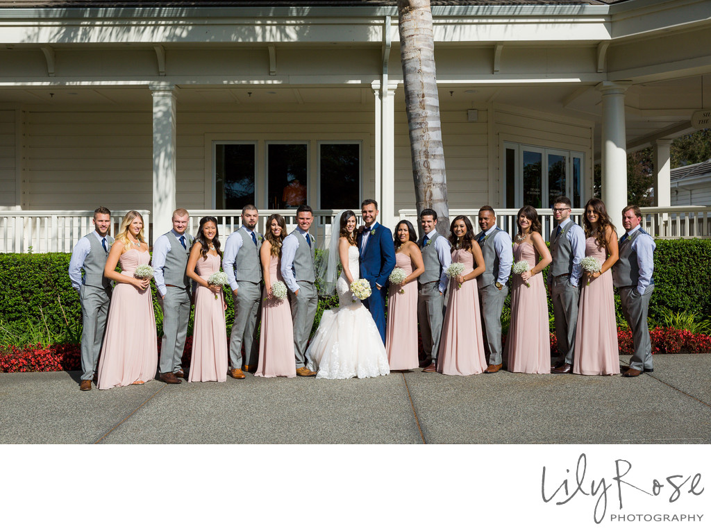 Wedding Party Silverado Resort and Spa