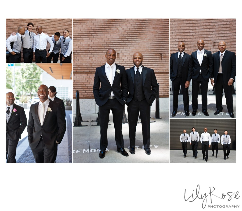 Groom Photos in San Francisco St. Regis Hotel