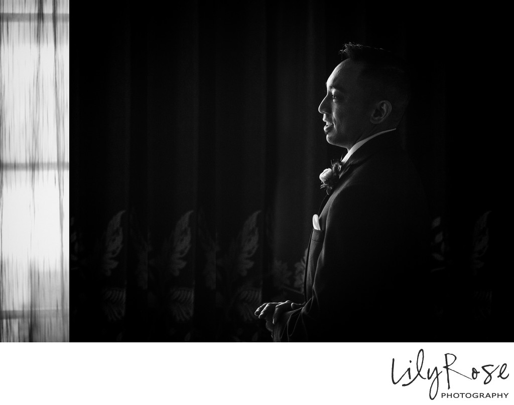 Groom at Meritage Resort and Spa