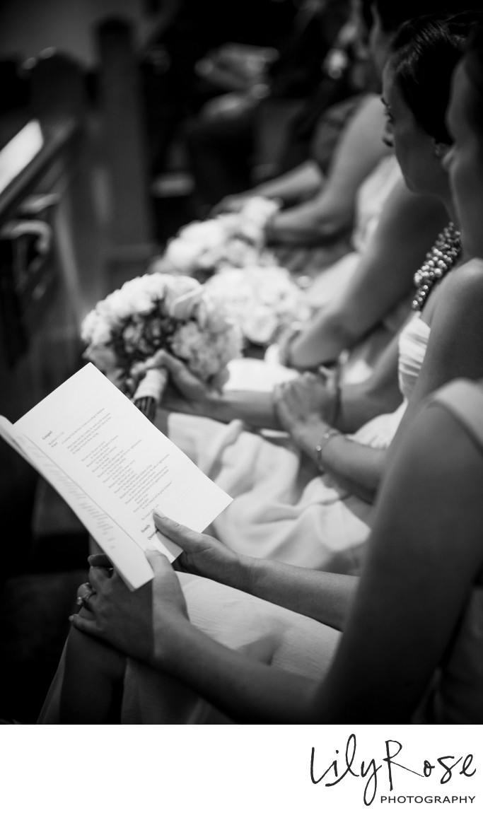 St. Dominic's Catholic Church Wedding Photographer