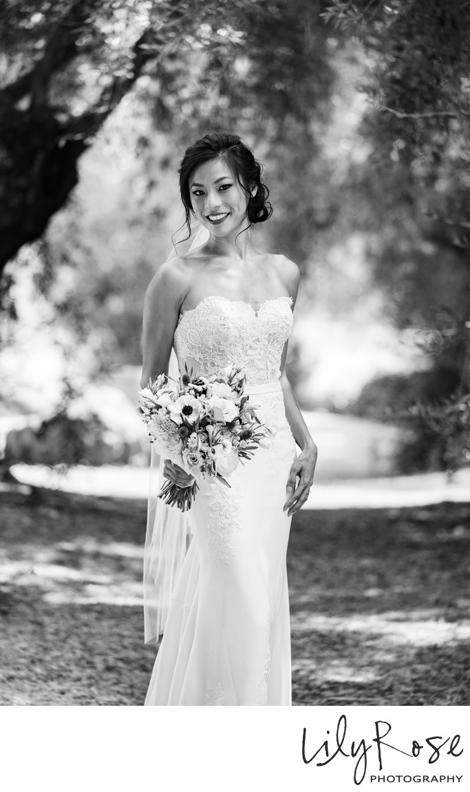 Stunning Bride From Kunde Winery Wedding