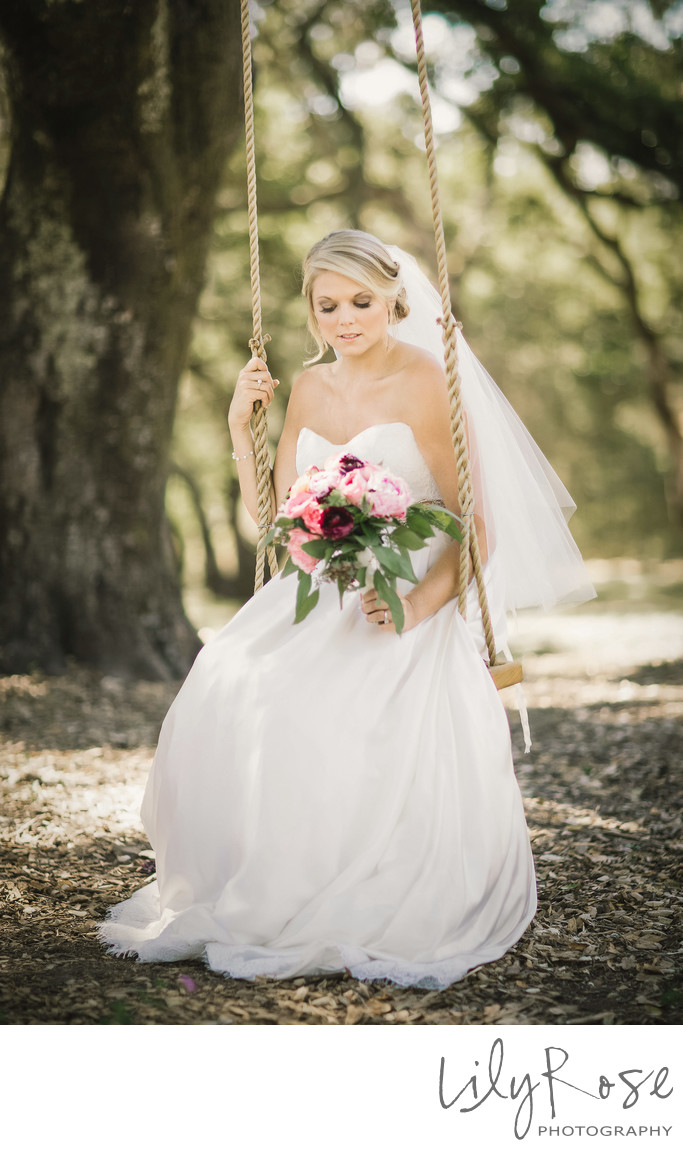 Bridal Portraits Napa and Sonoma Wedding Photographers