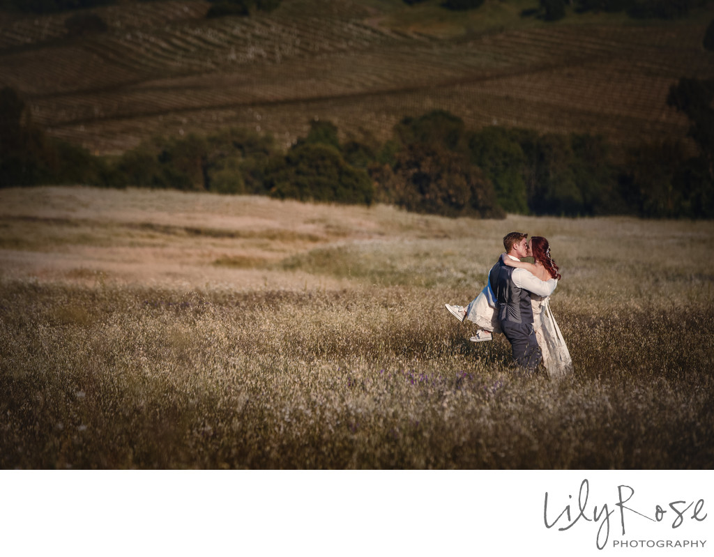 Napa Romantic Wedding and Engagement Photographer