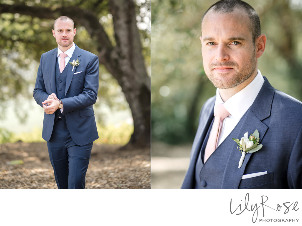 Sonoma Photographer Wedding Kunde Winery Groom