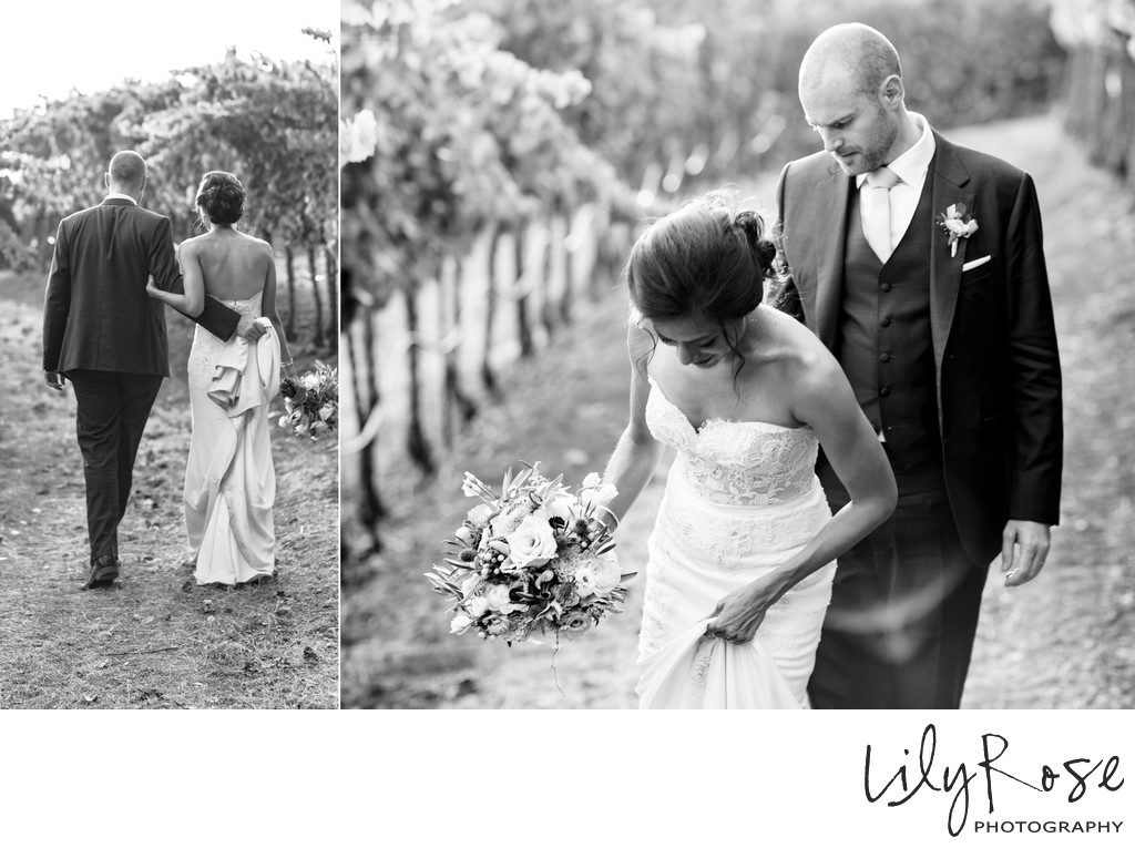 Kunde Family Winery Sonoma Photography Wedding Couple