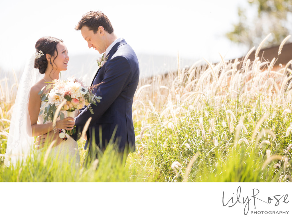 Cornerstone Sonoma Wedding Photographers Couple