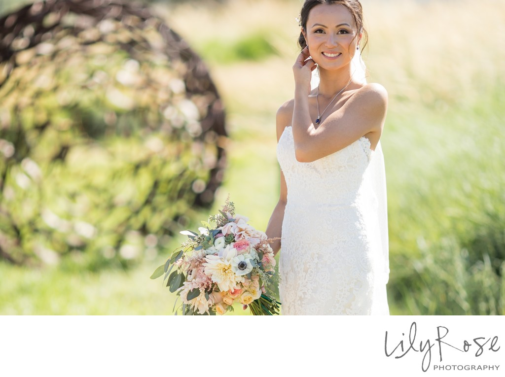 Cornerstone Wedding Sonoma Photography Bride