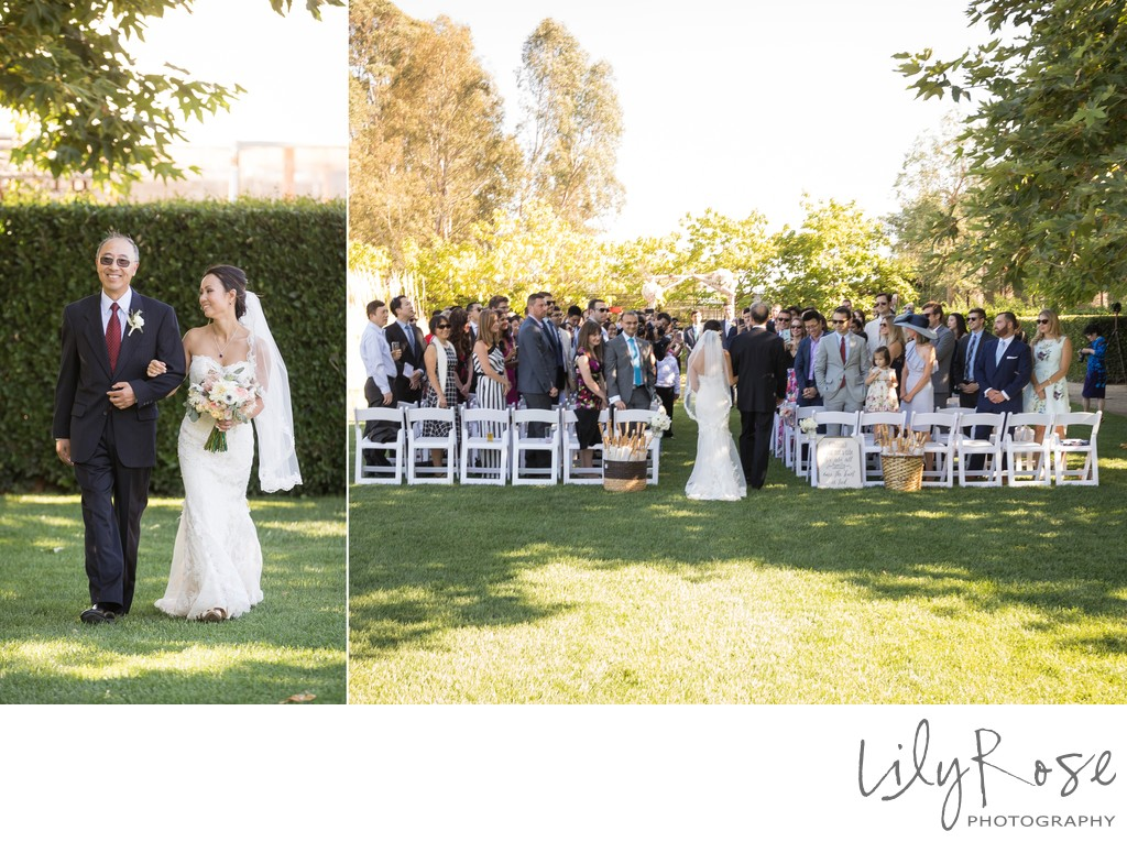 Cornerstone Sonoma Wedding Photographer Ceremony