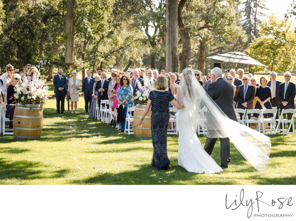 Portrait Wedding Photographer Napa CA Silverado Resort