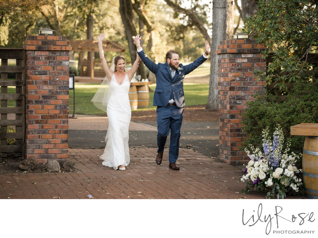 Entrance Silverado Resort Wedding Photographer Napa