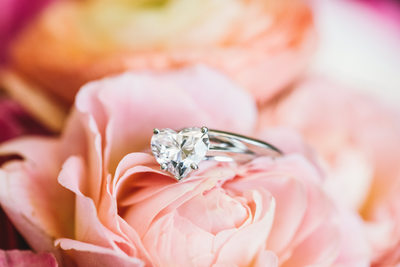Tiffany's and Co. Heart Wedding Ring Photogra