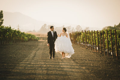 Natural light Sonoma Wedding Gloria Ferrer